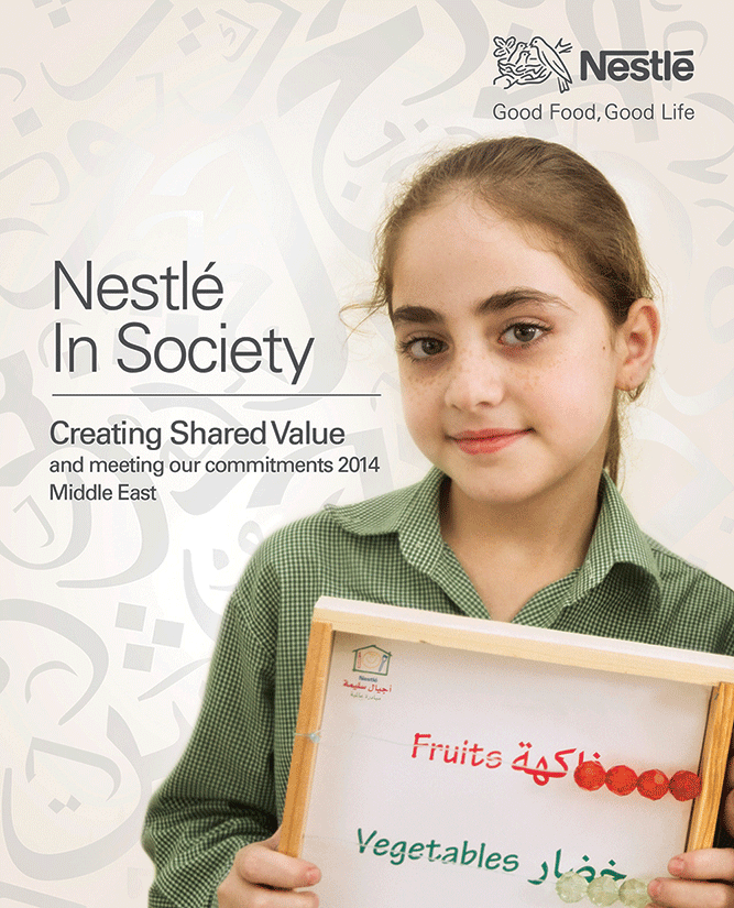 Nestlé Makes 20 Commitments to Society in the Region: First Regional Creating Shared Value Report